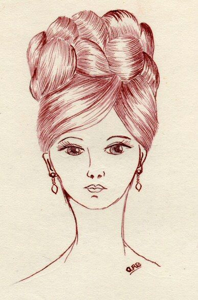 Drawing Of A Girl Studying Learning to Draw Hair Drawing and Painting Drawings Learn to