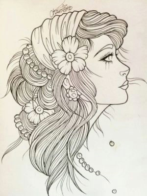 gypsy girl tattoo sketch i want to rock your gypsy soul van morrison into the mystic by nat scavone