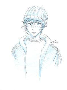 manga beanie boy