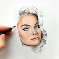 instagram post by natalia vasilyeva nov 16 2016 at 12 03pm utc makeup drawingdrawing