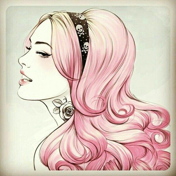 anime girls anime girl pink hair