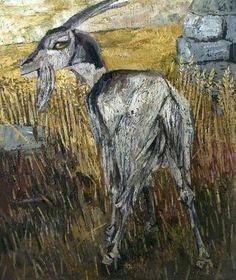 goat by derrick greaves uk goatvet likes the eye derrick greaves b 1927