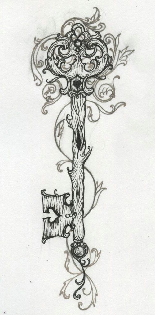 heart and key locket tattoos google search