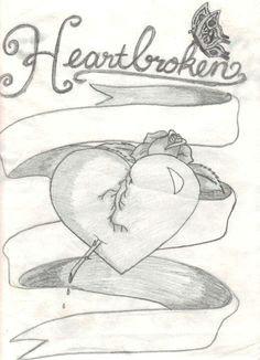 heartbroken heartbroken drawings sad drawings pencil drawings pencil art broken heart drawings