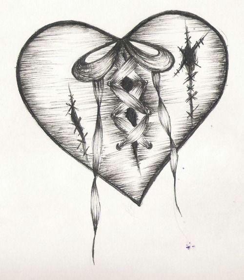 d d n n n d n d d d n n d d n d dµd heartbreak tattoo broken heart sketches broken heart art broken heart