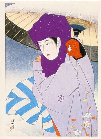 shinsui japanese prints japanese art modern japanese culture japanese style japanese painting