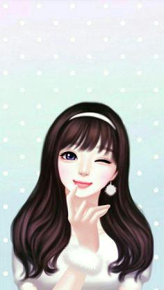 Drawing Of A Korean Girl 3591 Best Cute Drawings Images Illustration Girl Korean
