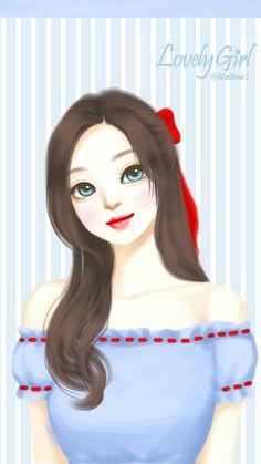 nor syafiqah lovely girl image girls image korean illustration tumblr art