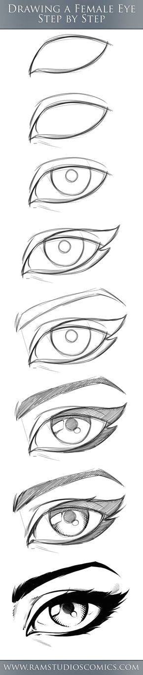 here is a comic eye tutorial for you to try out just work along step by step and see what you come up with i will be adding more of these if