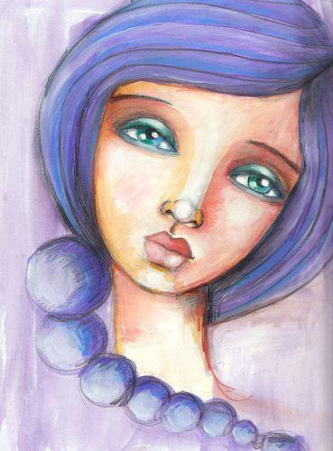 fabulous faces week 2 art pinterest art face art and art drawings