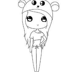 cartoon drawings of people kawaii girl kawaii chibi cute chibi easy drawings kawaii drawings cute cartoon anime cute girls