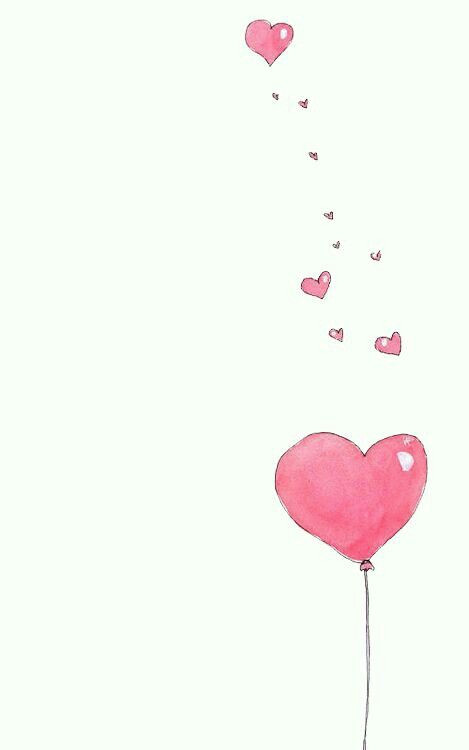 Drawing Of A Pink Heart Pin by Wafa On Printables Pinterest Wallpaper Drawings and Love