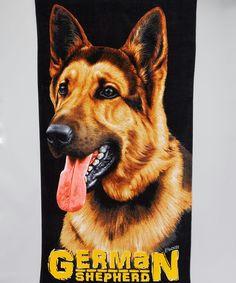 black german shepherd beach towel beach towel beach supplies black service dogs