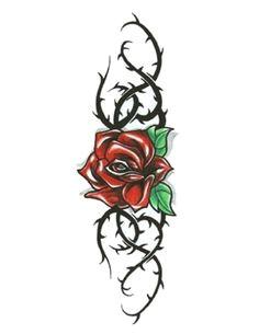 rose thorn tattoo rose vine tattoos flower tattoos arrow tattoos wolf tattoos