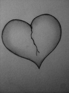 broken heart sketch drawing brokenheart heartbroken drawings broken heart drawings broken heart