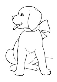 image result for simple christmas dog drawing easy