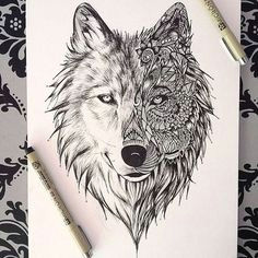 alea jacta est wolf face tattoo tribal wolf tattoo white wolf tattoo animal