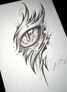 dragon eye tattoo alpha by j kings art dragon eye drawing