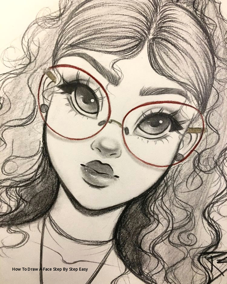 how to draw a face step by step easy i pinimg 750x 56 af 0d 56af0d0b1326fda4ea