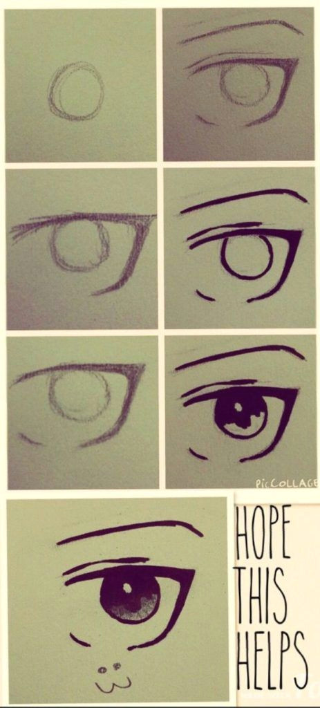 how to draw an eye5