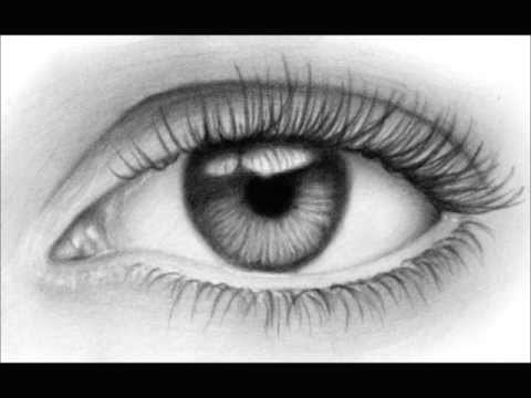learn how to draw an eye realistic drawing tutorial
