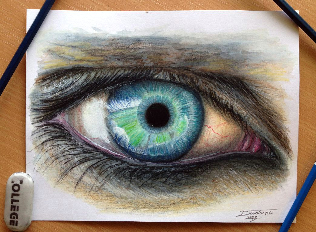 eye color pencil drawing by atomiccircus on deviantart