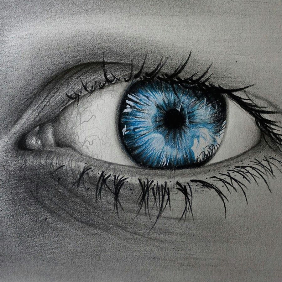 prismacolor wallpaper realistic eye drawings of eyes blue eyes how to