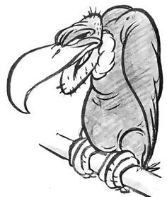 Drawing Of Cartoon Vulture 19 Best Cartoon Vulture Tattoo Images Cartoon Vulture Draw