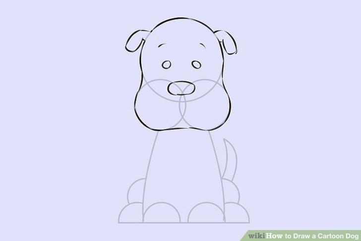 image titled draw a cartoon dog step 6