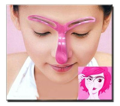 how to draw on eyebrows eyebrow template