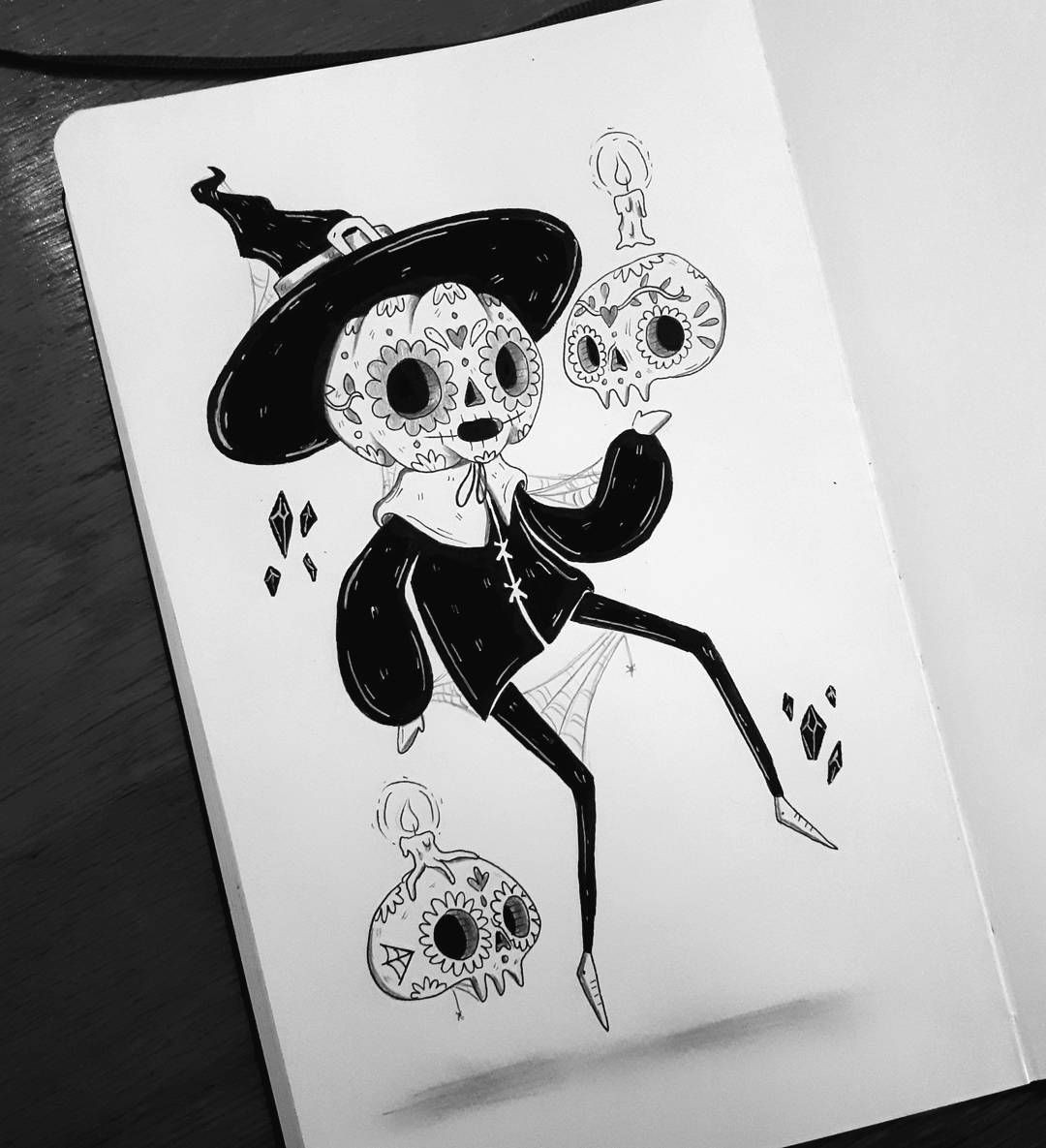 behemot crta stvari doodles procrastinator exorcist comics eye rolls demon cats