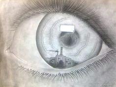 eye reflection drawing eye reflection gcse art objects eyes artwork drawings