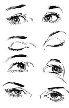 eyes looking at different directions drawing skills drawing techniques drawing tips drawing reference