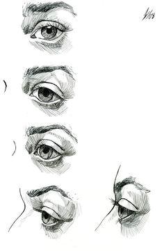 eye study by darkkenjie on deviantart https www facebook com