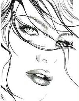 female face sketch image female face sketch picture code