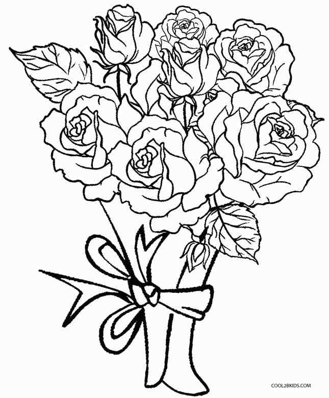 coloring pages of roses and hearts new rose coloring page fresh color pages for kids luxury