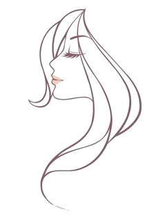free beautiful woman head vector illustration titanui