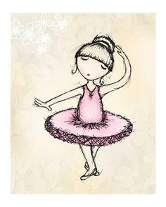 items similar to sweet ballerina dancing kids room decor wall art girls room 8x10 print on etsy