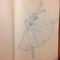 a pinterest deliriumrequiem a for alone ballerina illustrationballerina sketchballerina