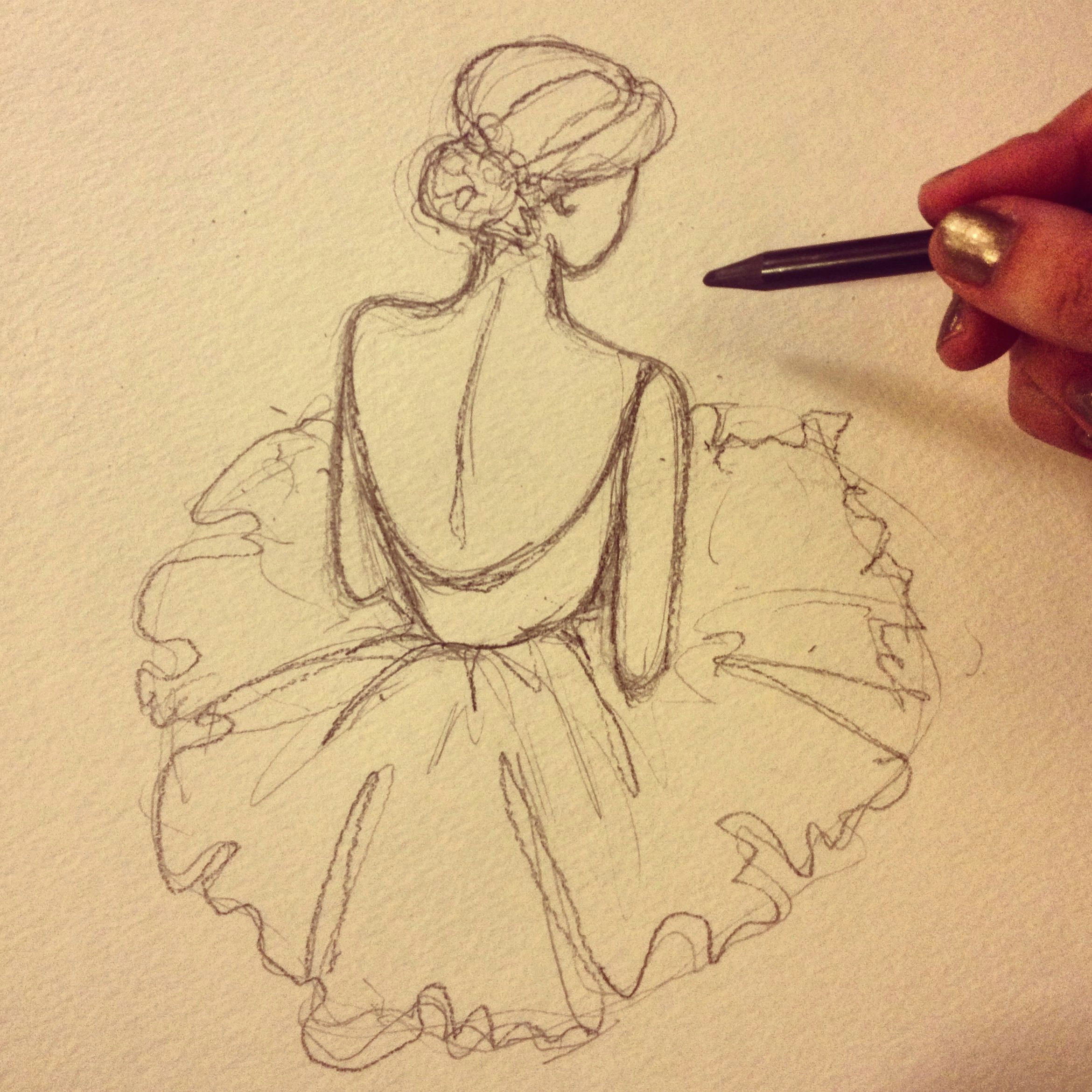 discover ideas about ballerina drawing