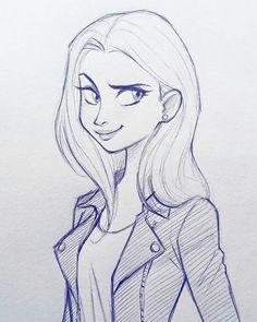 cameron mark on instagram cameronmarkart art design illustration drawing girl sketch doodle
