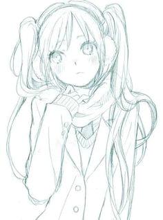 manga draw ibu chuani e i i e i e i e e anime girl drawings anime art girl