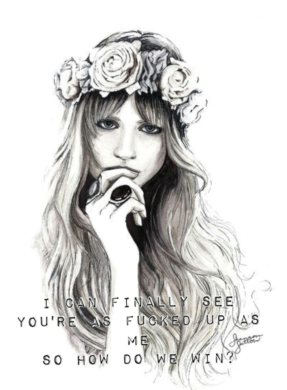 dodie clark sick of losing soulmates girl drawings tumblr drawings pencil drawings