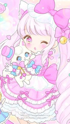 anime art baby baby doll baby girl background beautiful girl cartoon cute baby design drawing fashion illustration illustration girl kawaii