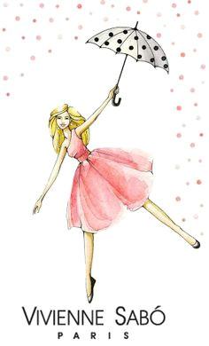 Drawing Of Girl Holding Umbrella 396 Fantastiche Immagini Su Umbrellas Illustrations Drawings