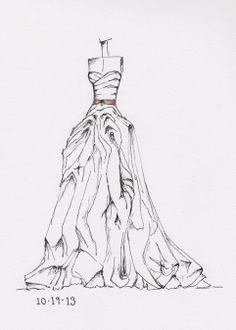 www etsy com shop dresssketch wedding dress sketches croquis wedding dress