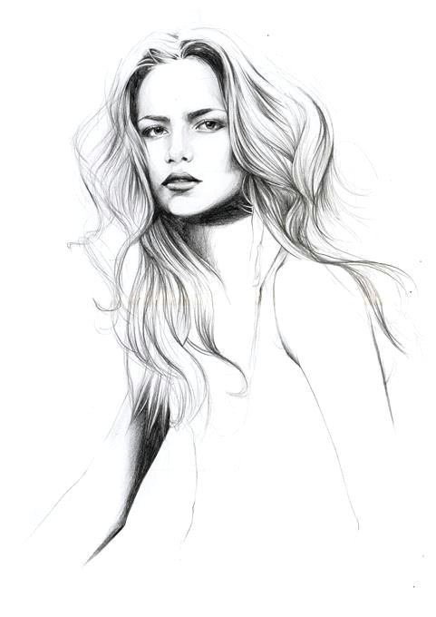 caroline andrieu think the shading on the arm n neck many not be quite there but overall nice