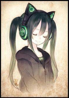 anime girl photo manga anime music i love anime anime girl cute