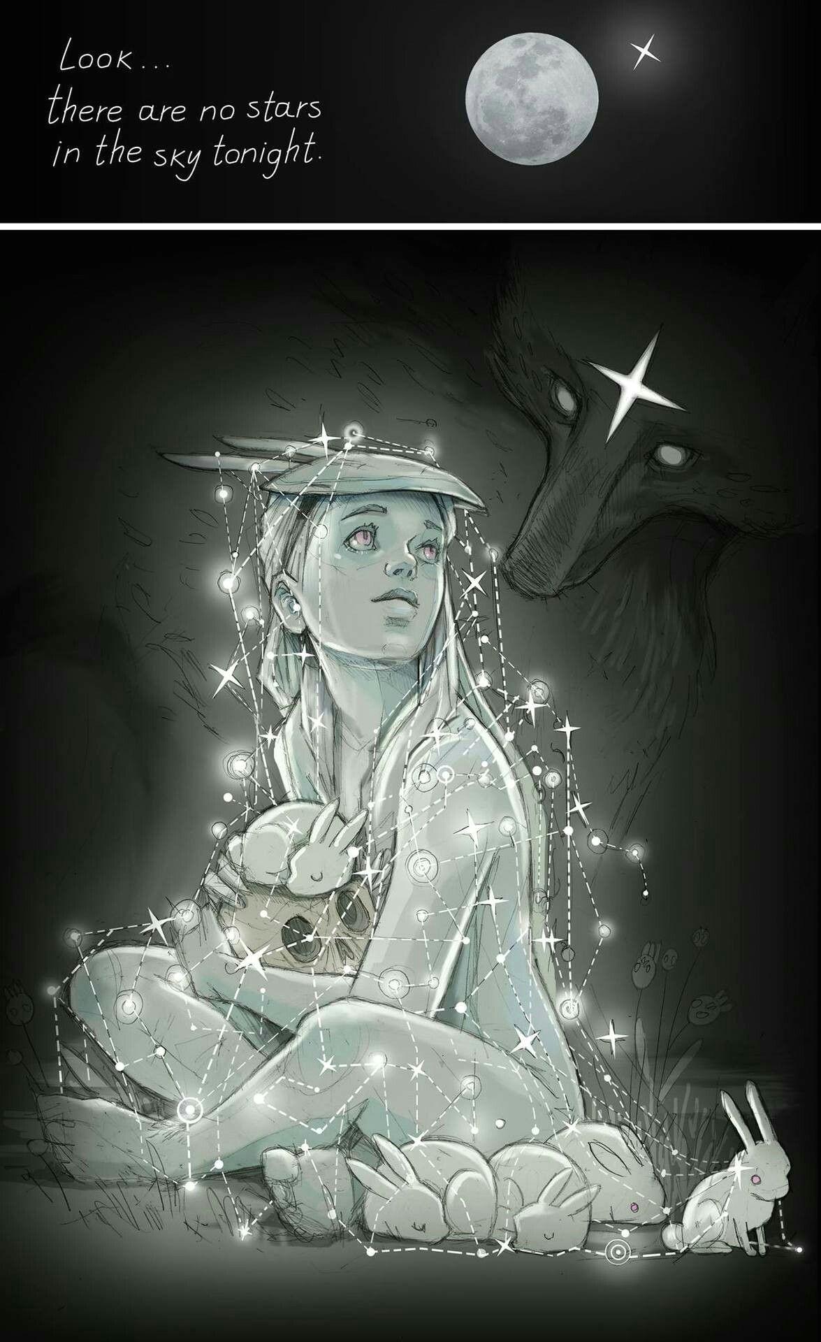 night sky drawing stars tonight star girl comic drawing weird drawings