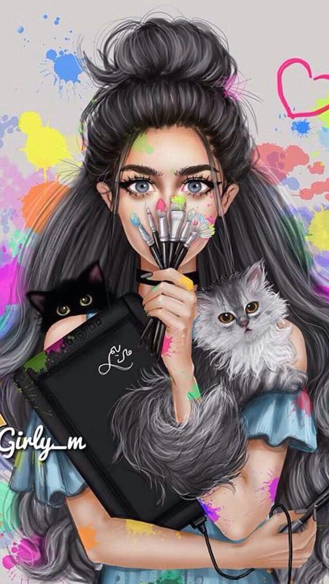 sarra art girly m illustration cute drawings lady drawing art girl